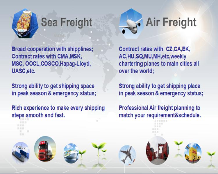 Shipping From Ningbo/Shanghai/Shenzhen/Guangzhou to Argentina