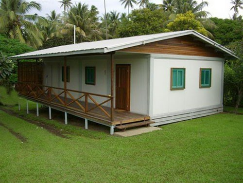 Steel Structure Portable Residential House (KXD-SSB1396)