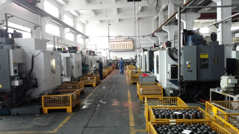Carbon Steel Iron Casting with CNC Machining Parts