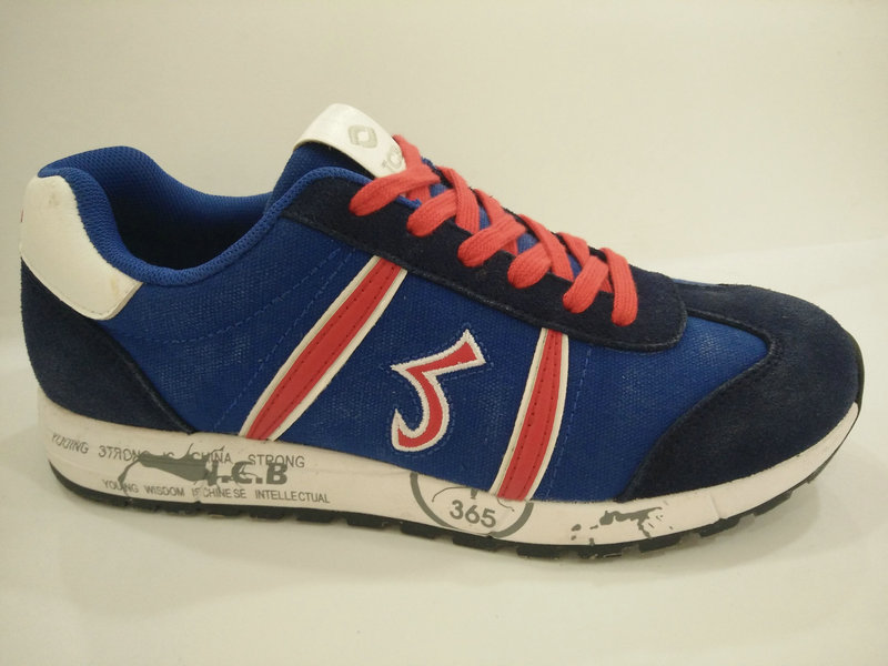 Men's Retro Blue Casual Sport Shoes Footwear