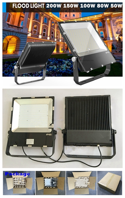 Slim Floodlight 80W Dimmable Outdoor LED Flood Light