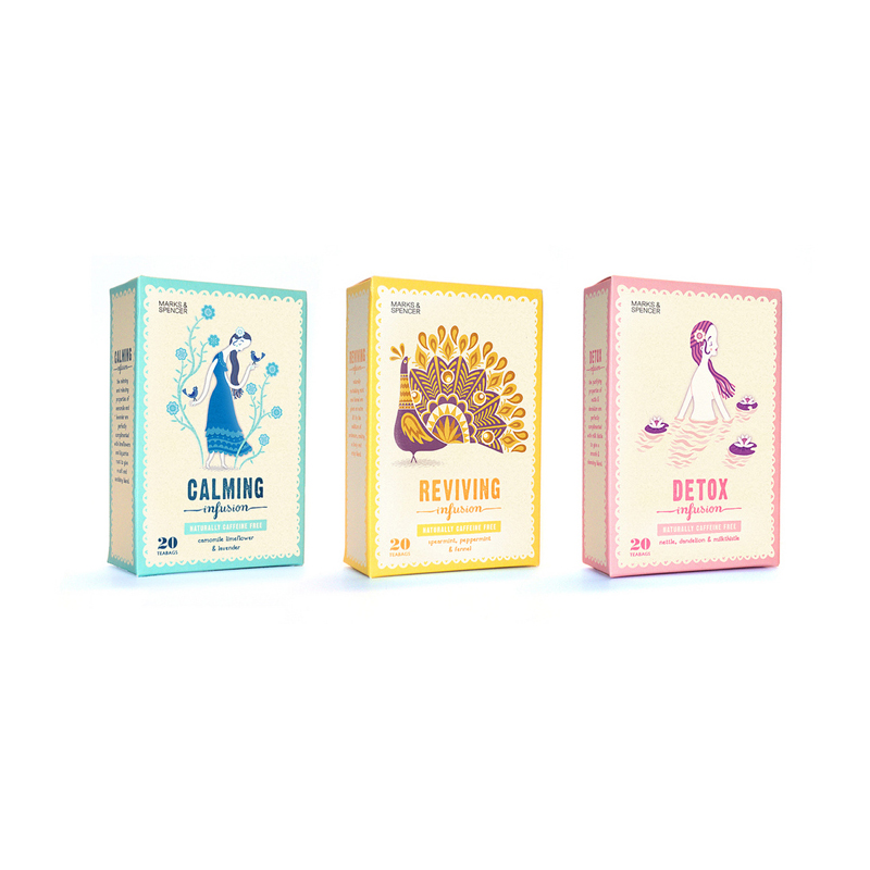 Pop Design Custom Tea Gift Boxes