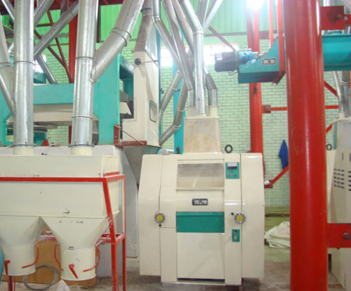 120 Ton Per Day Wheat Flour Milling Machine (for cake bread and pasta flour)