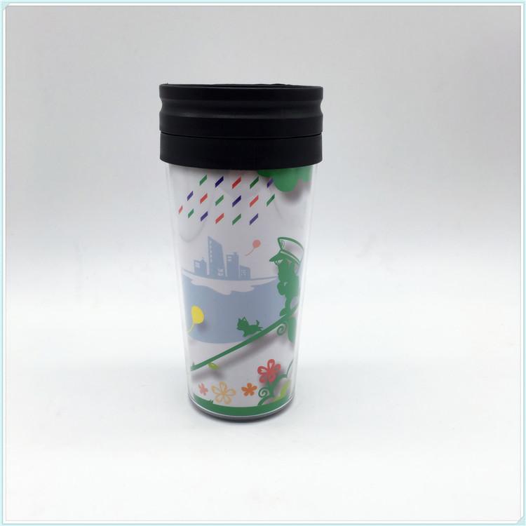 2016 New Design PS Material Plastic Water Mug, Coffee Mug