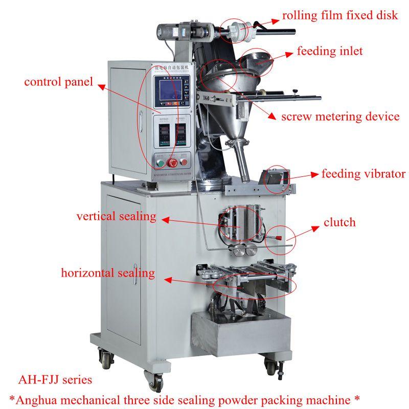 50-300g Three Sides Back Sealing Milk Powder Packing Machine