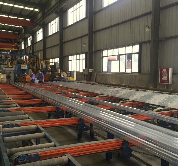 Polished Construction Material Aluminium Profile Aluminum Extrusion