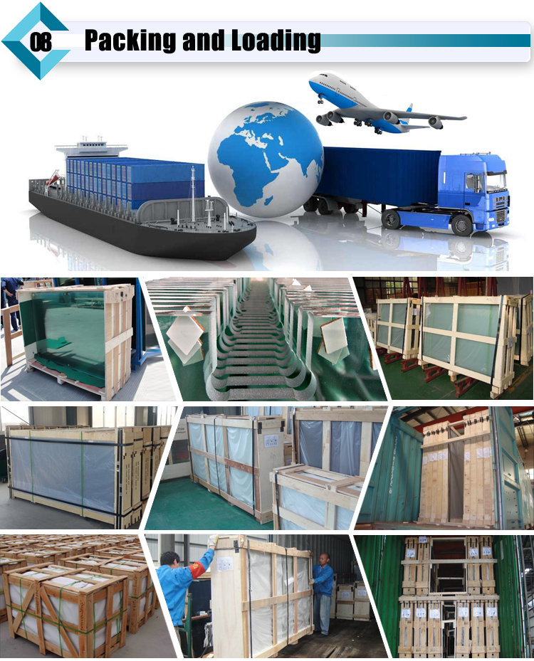 Triplex Laminated Glass Package