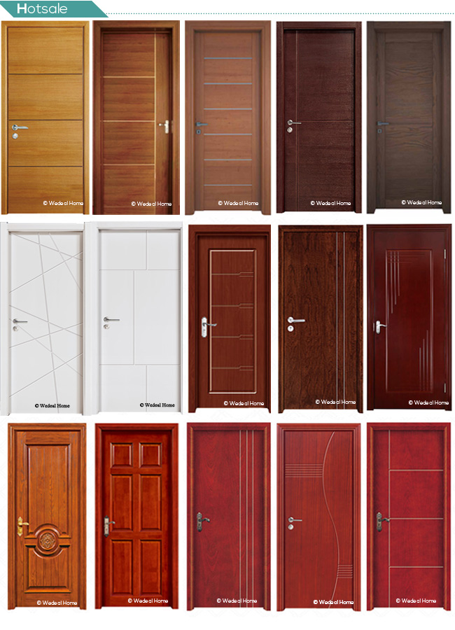 PVC Laminate Molded Door with Modern Designs for Africa