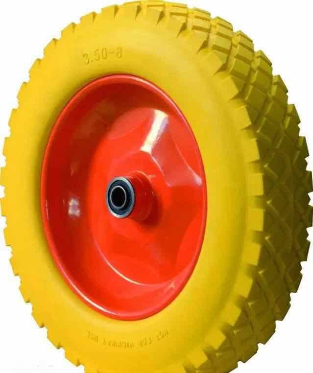 PU Flat Free Foam Wheel for Wheel Barrow
