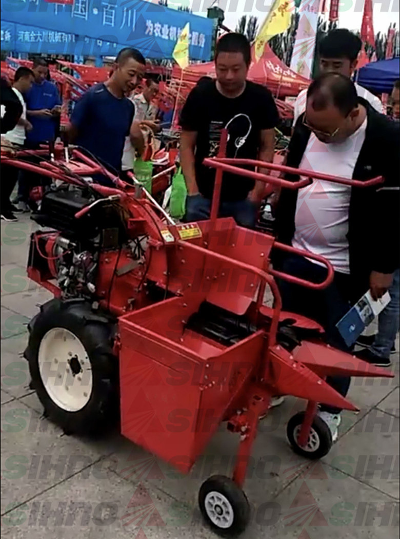 Corn Harvester for The Walking Tractor