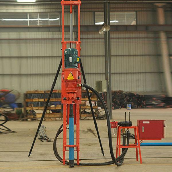 SKD100 Portable Pneumatic DTH Blasting Hammer Drill Rig