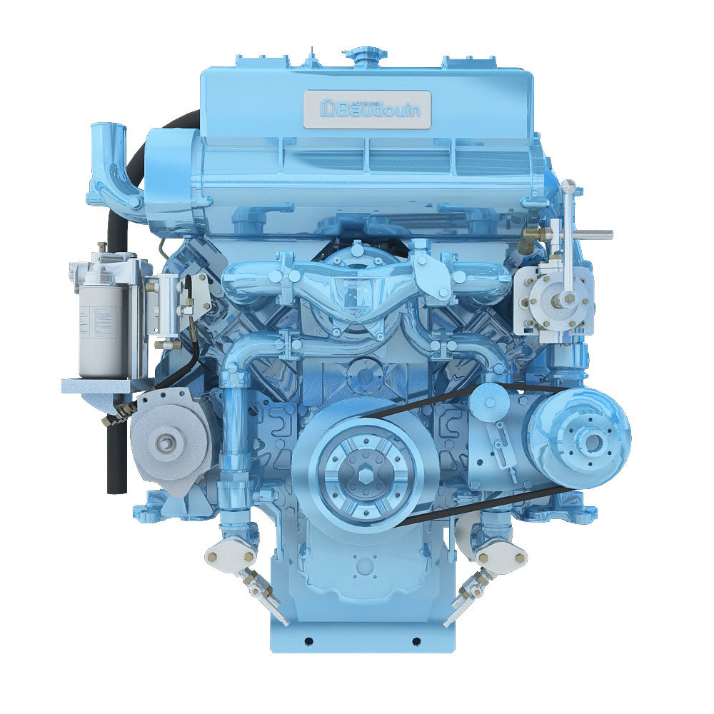 Weichai 550kw Diesel Engines Details 750HP for Marine