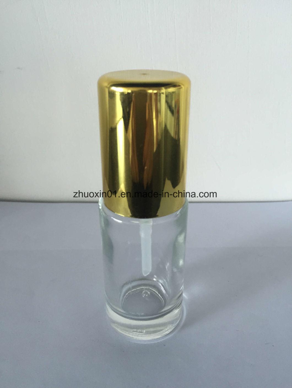 Gold Lids 30ml Promotional Glass Lotion Pump Bottle