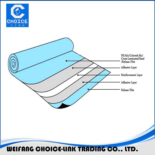 Self Sealing Membrane Roof : Self adhesive lightweight roofing materials waterproofing