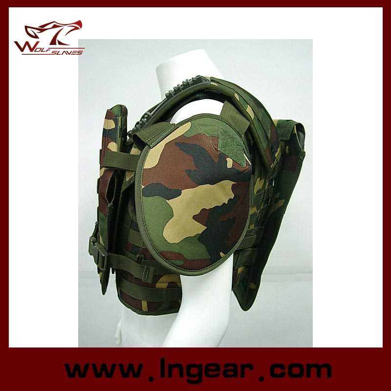 Military Equipment Tactical Tortoise Shell Bulletproof Vest Army Safety Vest