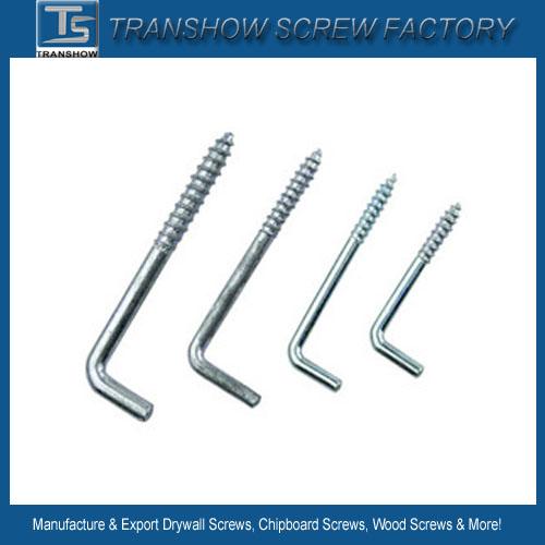 Screw L Type Hook Wood Screws for Furniture