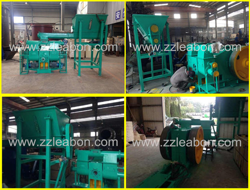 Piston Press to Make Wood Briquettes Calorific Wood Briquette