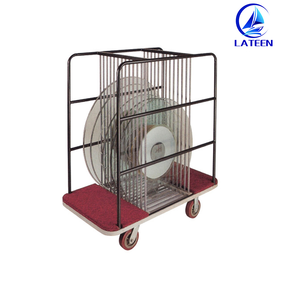 Hot Sale Hotel Banquet Furniture Chair Table Trolley Luggage Cart