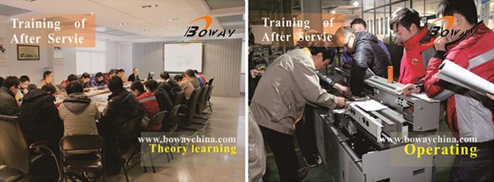 Boway 420mm L 60mm H A3 A4 Hot Melt Adhesive Binder Auto Side Glue Perfect Book Binding Machine
