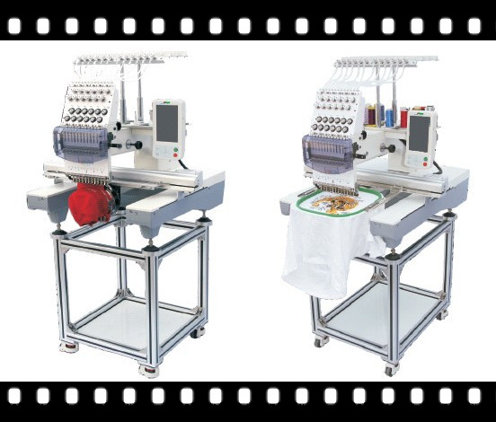 New Large Area Single Head Cap Embroidery Machine Wy1201cl