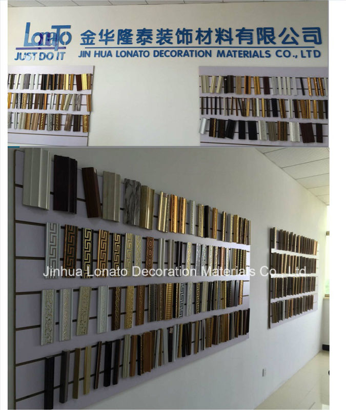 High Density PS Decoration Photo and Mirror Frame Cornice