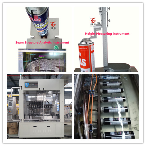 Aerosol Tin Cans for Line Marker Spray (high pressure 750ml)