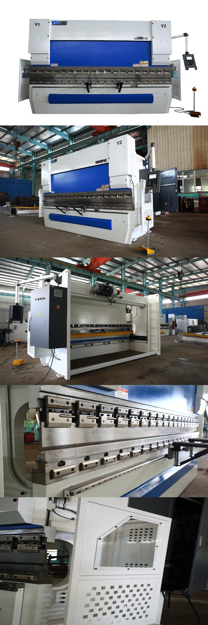 Hydraulic Plate Bending Machine with Da52s System 4+1 Axis