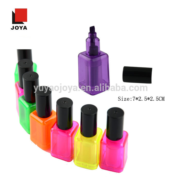 Promotion Unique Nail Polish Shape for Highlighter