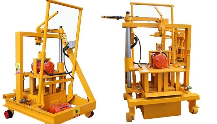 Egg-Layer Block Machine Qt 40-3A Egg Laying Brick Making Machine Bricks Maker Machine
