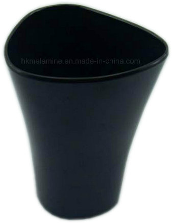 New Deign Black Melamine Waste Can