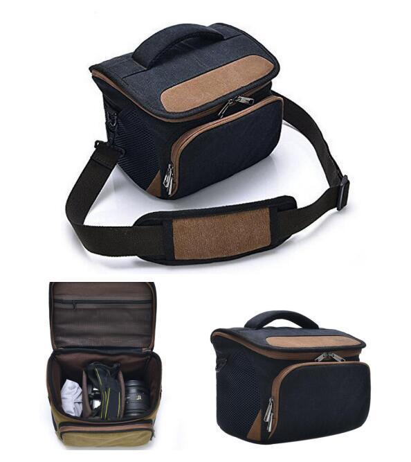 Professional DSLR Shoulder Sling Godspeed Canvas Camera Bag Sh-16051309