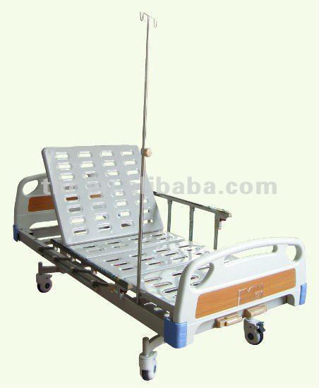 Economical 2-Function Medical Manual Patient Bed (THR-MB248)