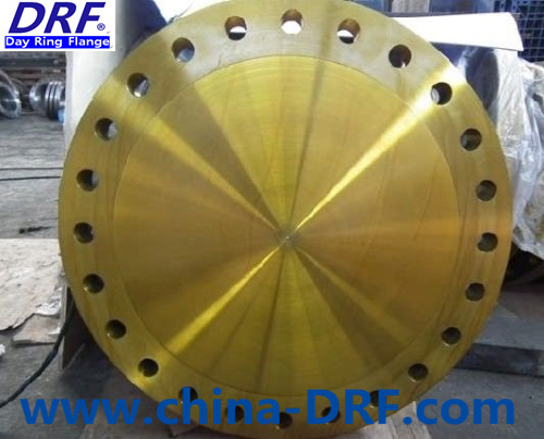 Factory Direct Asme B16.47 Sale Forged Steel Large Caliber Flange