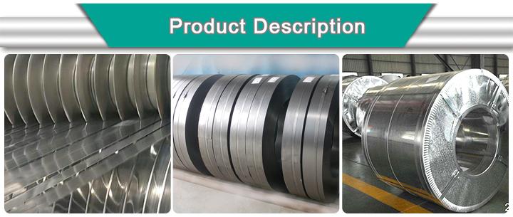 Factory Dx51d Z30-Z60 0.15mm-2.0mm Galvanized Gi Steel Coil Strip