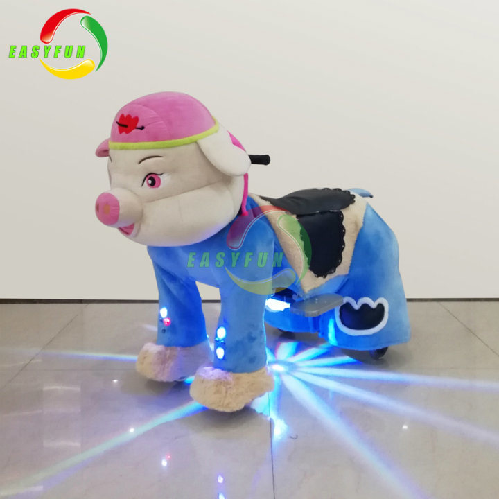 2018 High Quality and Safari Coin Operated Electric Walking Animal Ride for Indoor Amusement Park