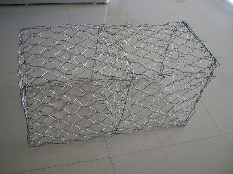 PVC Coated Hexagonal Wire Mesh Gabion Baskets (anjia-123)