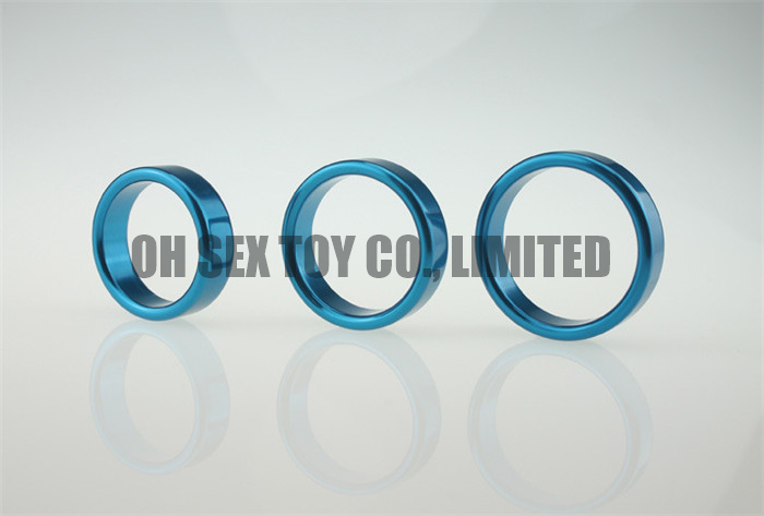 Aluminium Alloy Male Cock Ring 3 Pack Wholesale