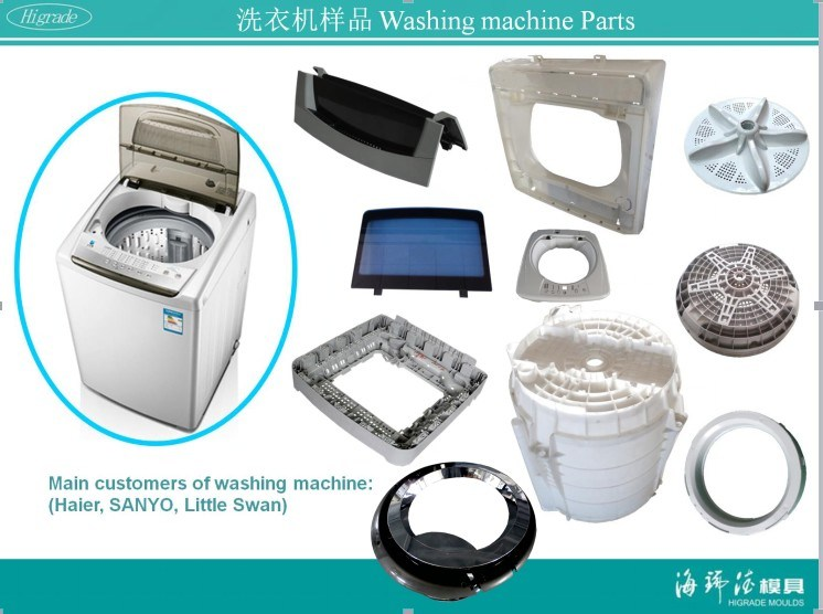 Injection Mould for The Bottom of The Barrel Washing Machine