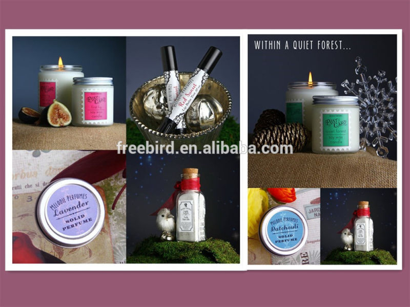 Pure Soy Personalized Gift Candle Set in Beautiful Box