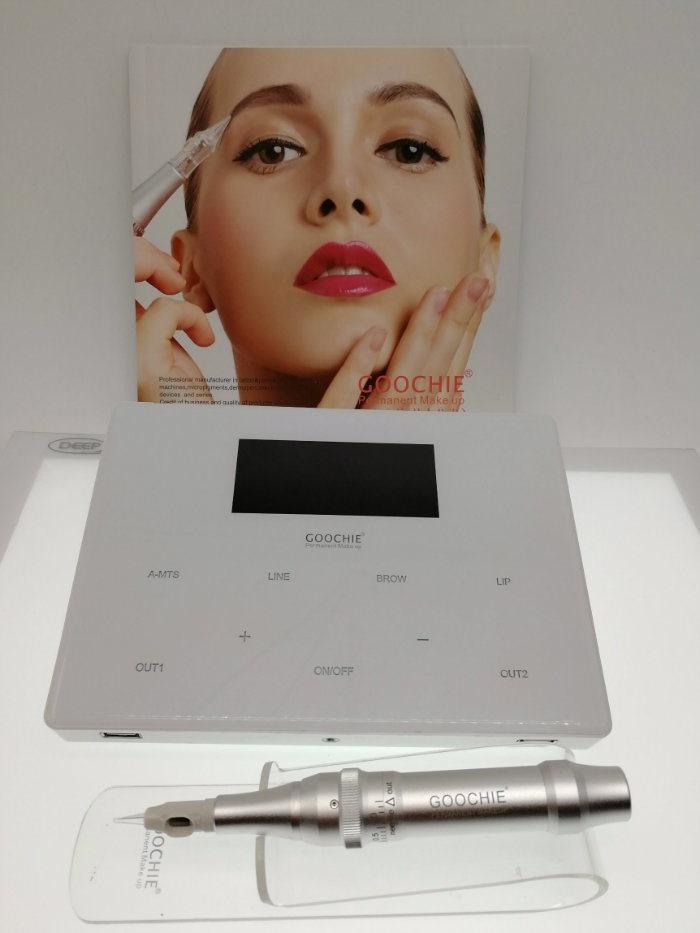 Goochie New Design M-4 Digital Permanent Makeup Eyebrow Tattoo Machine