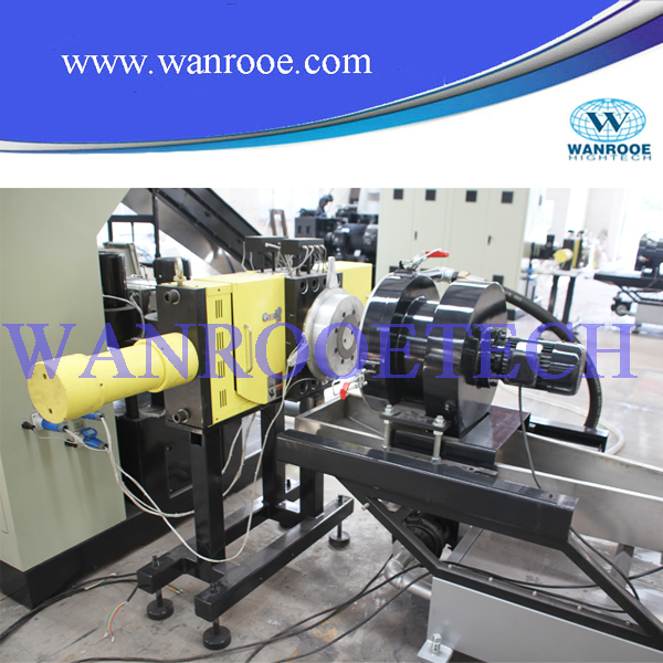 PP PE Film and Woven Bag Plastic Granulating Machine