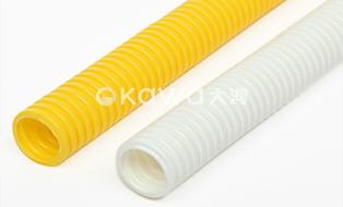 PVC/PP/PA/PE/EVA Ripple Plastic Cable Conduit Wire Protection Hose