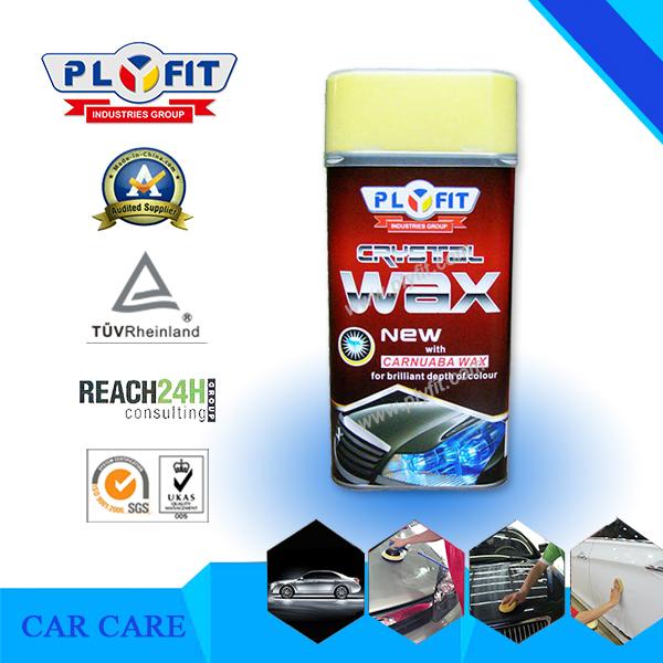 Anti UV Coating Steel Polish Crystal Wax