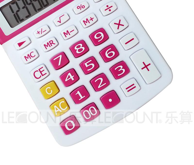 10 Digits Dual Power Optional Japanese/English Tax Desktop Calculator (LC213T-JP)