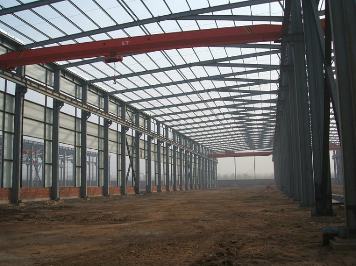 Coal Storage Shed Steel Structure Prefabricated Workshop Building Warehouse