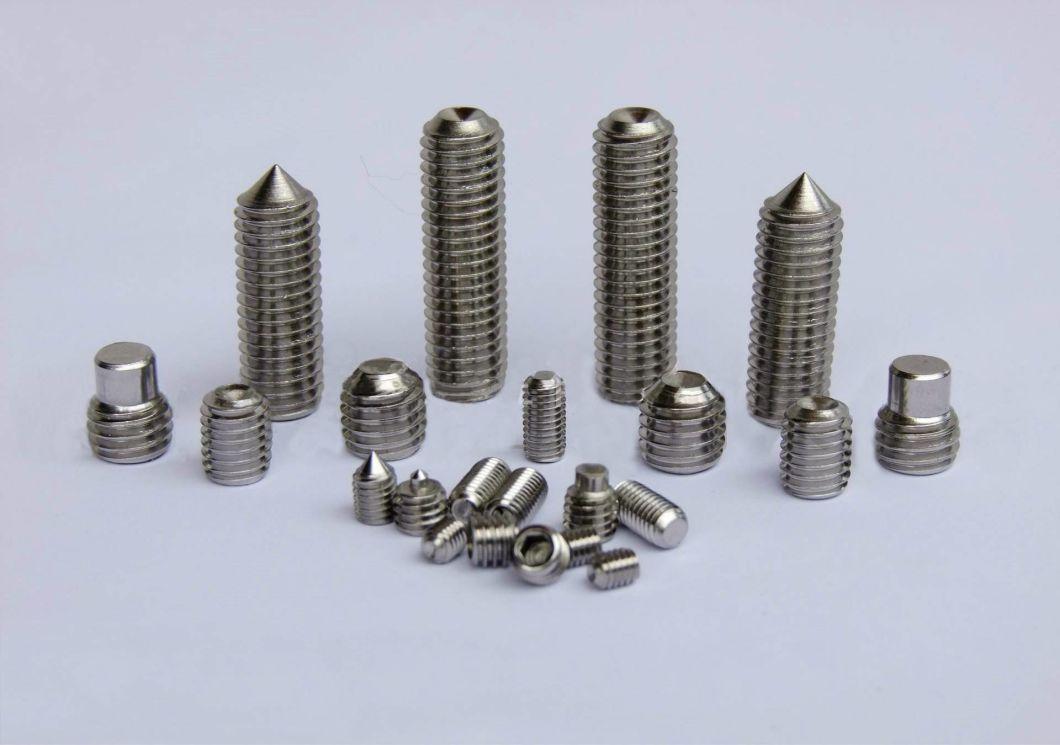 Stainless Steel Hexagon Socket Set Screws