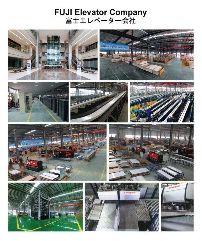 FUJI Observation Elevator Lift for Sale (HD-GA01)