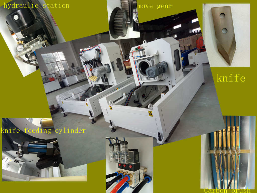 Single Screw Extruder PE HDPE PPR Pipe Extrusion Production Line