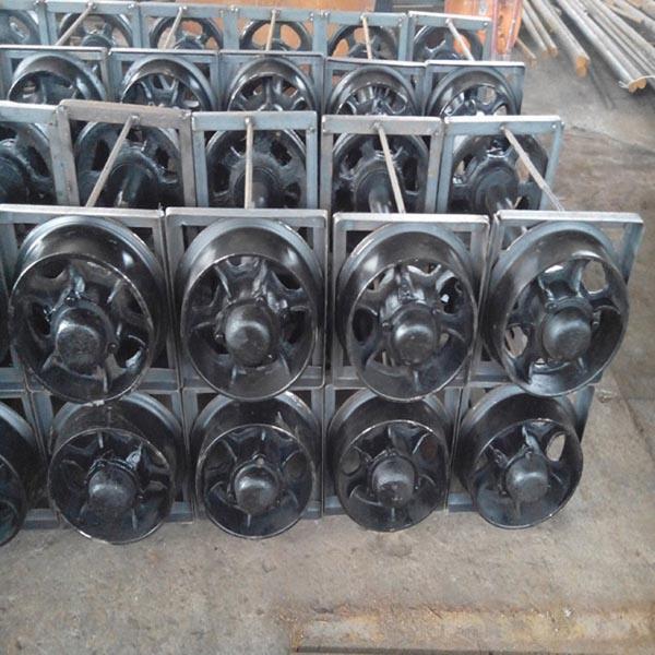 Hot Sale! Cast Steel Mining Car Wheel Set