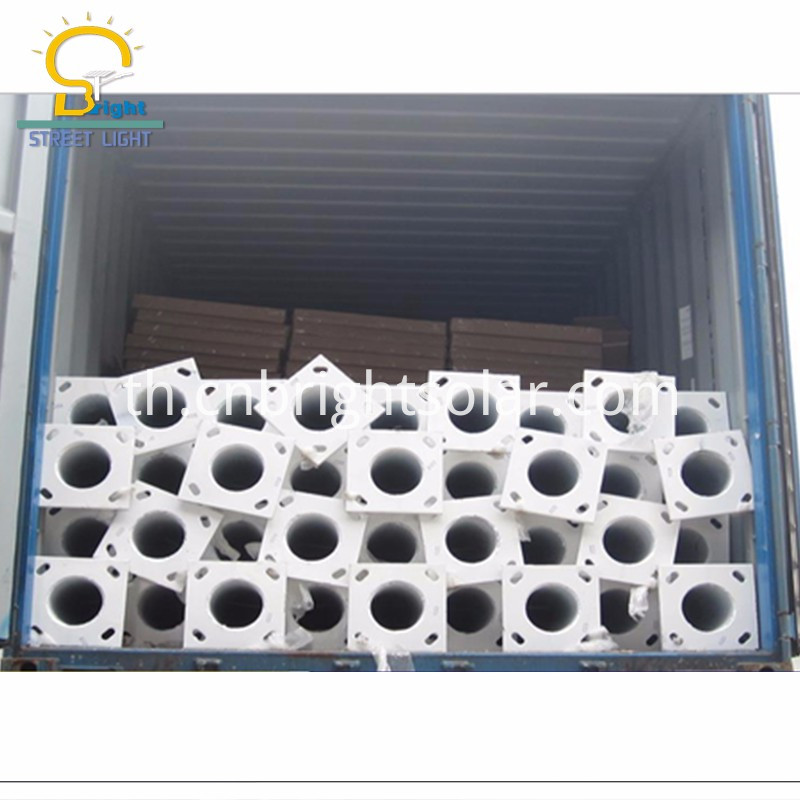 12M Galvanized Pole